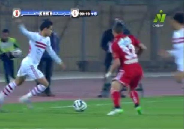 مهارة رائعة من مصطفى فتحي لاعب الزمالك