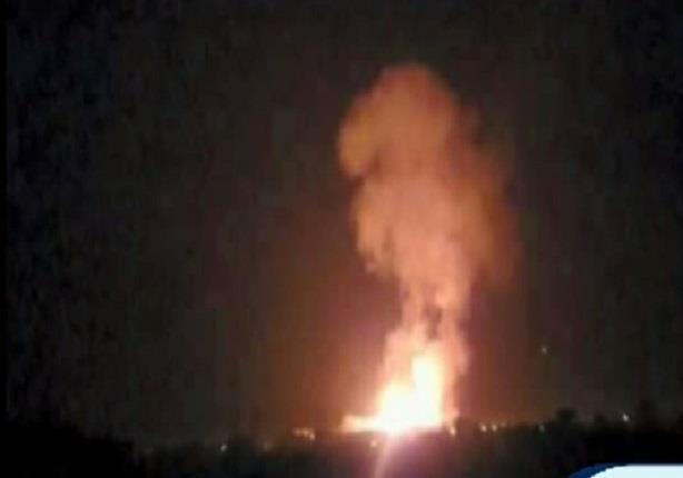أول صور للإنفجارات الضخمة التي هزت شمال سيناء لفندق القوات المسلحة