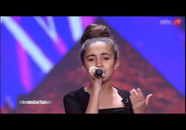 المتسابقة هبة المغربية في برنامج Arabs Got Talent