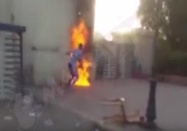 بالفيديو.. لحظة إشعال الإخوان النيران بغرفة أمن جامعة الزقازيق