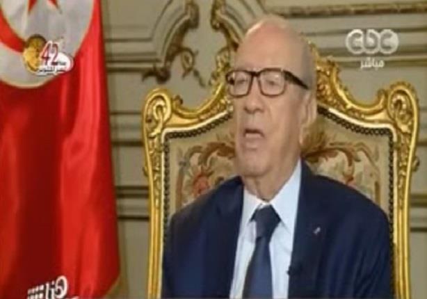 السبسى: مصر وتونس جاهزتان لمواجهة الإرهاب