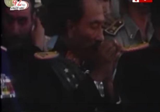 لحظة اغتيال الرئيس انور السادات بصورة اوضح