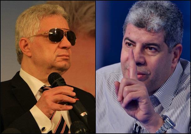 مكالمة مرتضى منصور مع شوبير حول أزمة باسم مرسي