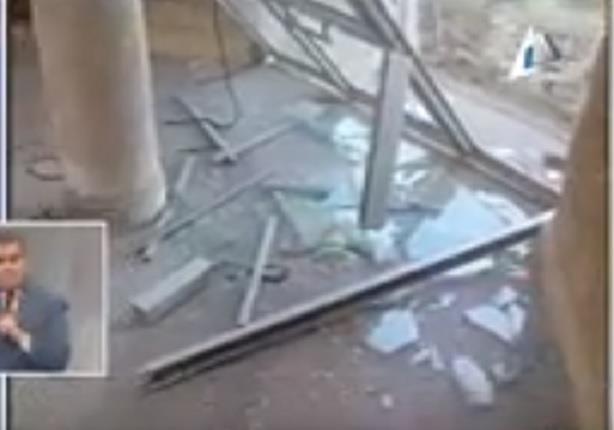 أثار انفجار فندق القضاة بالعريش