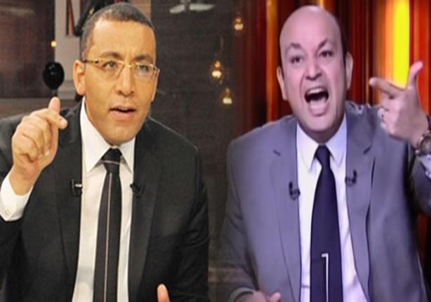 تبادل للشتائم وألفاظ خارجة بين عمرو أديب وخالد صلاح على الهوا