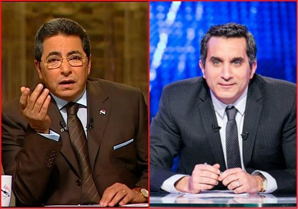 """محمود سعد لـ باسم يوسف: """"انت احلويت قوي"""""""