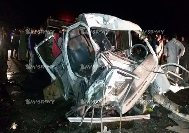 بالصور.. وفاة 3 حالات من مصابي حادث تصادم الطريق الدولي في كفر الشيخ