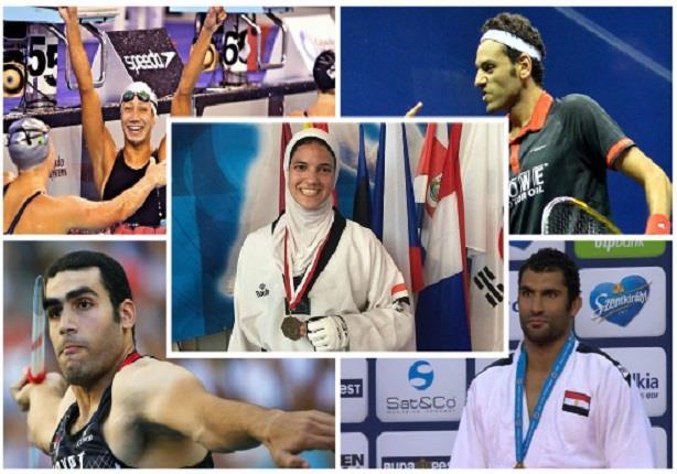 بعيدا عن كرة القدم- 2015 عام سعيد للرياضة المصرية