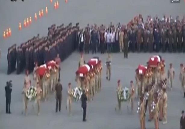 """القوات المسلحة تهدى اغنية """"فاكرك يا صاحبى"""" لشهداء الجيش والشرطة"""