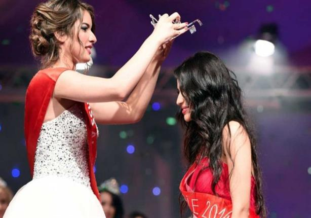 ملكة جمال الأمازون تتعرض لموقف محرج أثناء تتويجها باللقب
