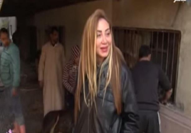 ريهام سعيد تعرض فيديو لها وهي تذبح عجل وتعلق:ازاي بنت تقتل أمها