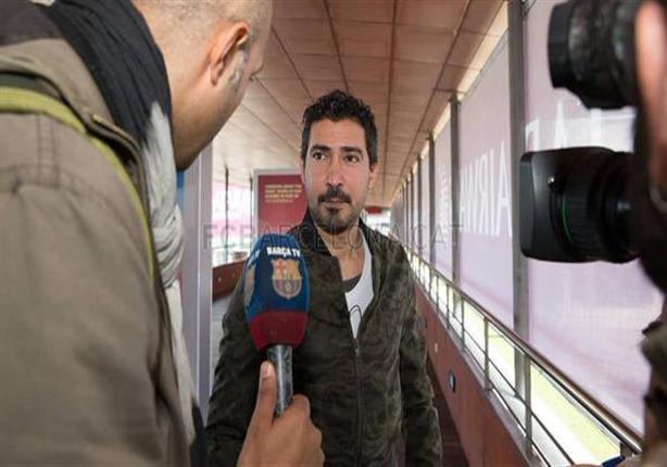 بركات يكشف سبب تواجده في برشلونة
