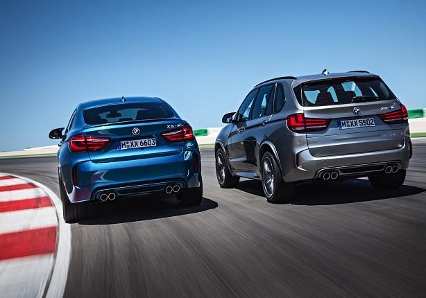 أداء قوي للسيارة BMW X6 M على مضمار السباق