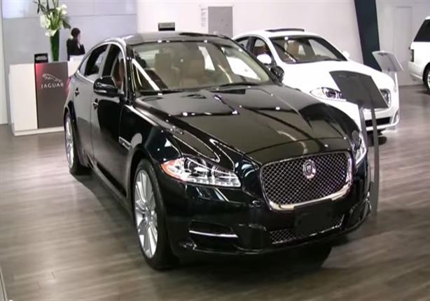 إطلالة مميزة للسيارة 2015 Jaguar XJ