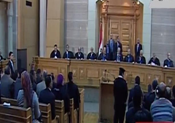 لحظة الحكم من المحكمة الدستورية العليا فى طعون الإنتخابات البرلمانية