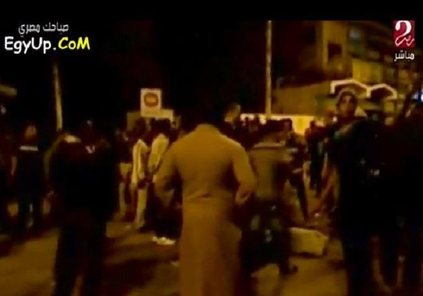 وفاة شخصين واصابة 11في انفجار عبوة امام كورنيش النيل باسوان