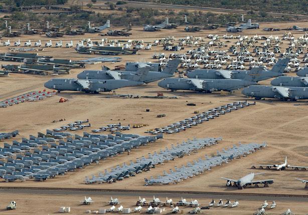 أكبر مقبرة للطائرات في العالم - صور وفيديو