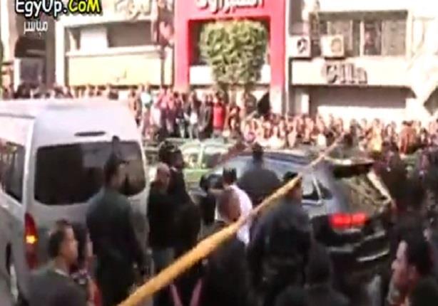 فيديو لمكان إنفجار قنبلة أمام دار القضاء العالى