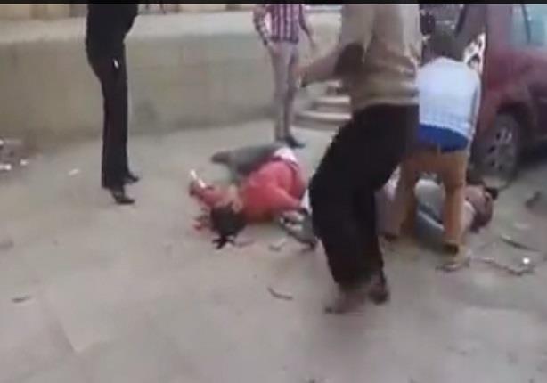 لحظة انفجار القنبلة أمام دار القضاء العالي وسقوط مصابين