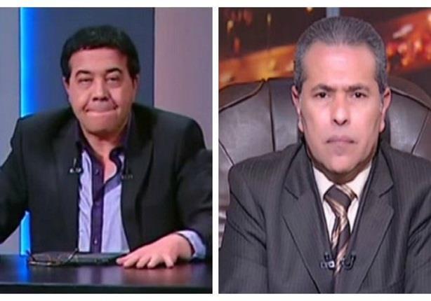 أحمد آدم يقلد الإعلامى توفيق عكاشة ويعلق: متزعلش يا عم توفيق ده انت حبيبى