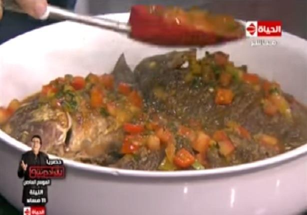 طريقة عمك سمكة حارة - الشيف آيه حسني