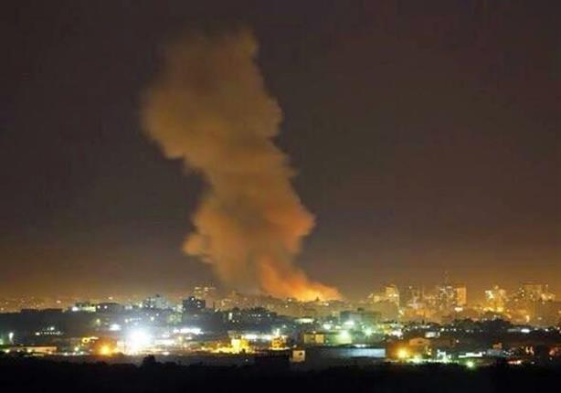 """اللقطات الأولي لـ""""عاصفة الحزم السعودية"""" لقصف قواعد الحوثيين باليمن"""