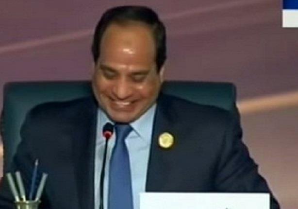 السيسي مداعبا رئيس الوزراء الأردني : يعنى هنمنع الكحة ولا ايه