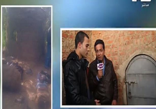 أحمد رجب يعرض صور الخاطفين بعد تعديهم على قوات الأمن