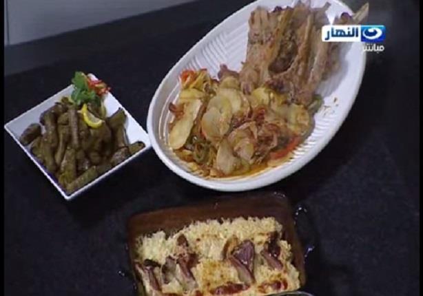 طريقة عمل ارز معمر بالحمام وورقة لحمة بالريش البتلو- الشيف علاء الشربيني