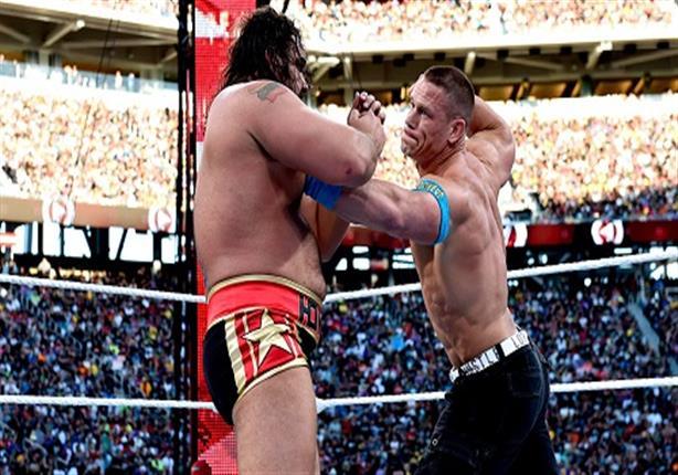 """جون سينا يصارع روسيف على لقب الولايات المتحدة الأمريكية في """"ريسلمانيا 31"""""""