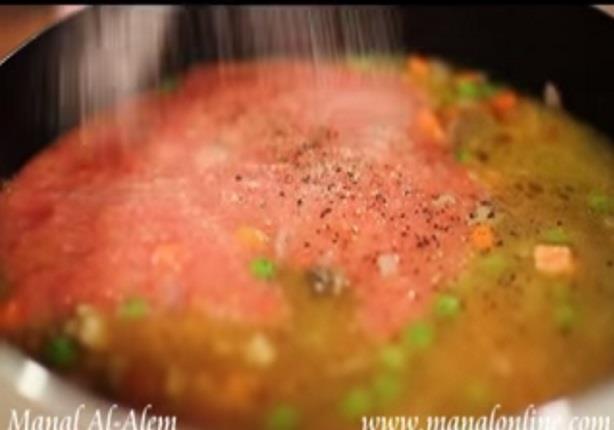 يخني الجزر والبازيلاء - مطبخ منال العالم