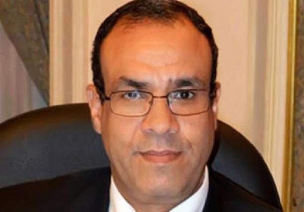 السفير بدر عبد العاطى يرفض الاجابة على سؤال بخصوص دعوة قطر وتركيا لحضور المؤتمر