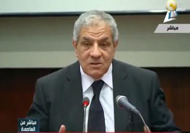 مؤتمر صحفي لإستعراض استعدادات الحكومة لمؤتمر دعم وتنمية الاقتصاد المصري