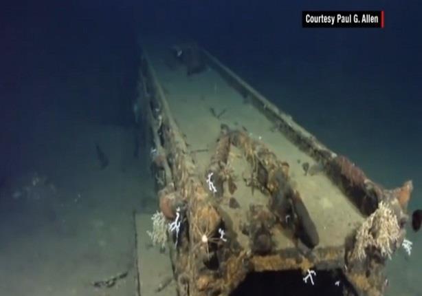 """""""موساشي"""".. سفينة يابانية أغرقها الأسطول الأمريكي في بحر الفلبين"""