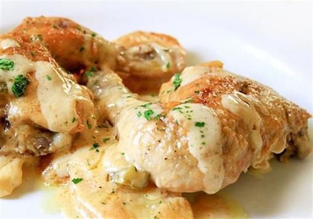 دجاج كريمي - الشيف آية حسني