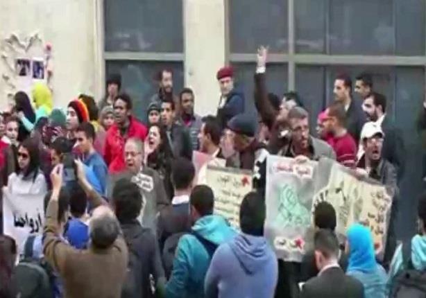 وقفة التحالف الاشتراكي في ذكري الاربعين لمقتل شيماء الصباغ