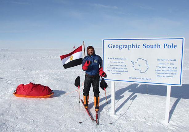 بالفيديو والصور: عمر سمره في مغامرته الأخيرة إلى القطب الشمالي