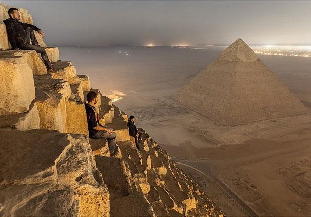 بالصور: مصر بعيون الأهرامات