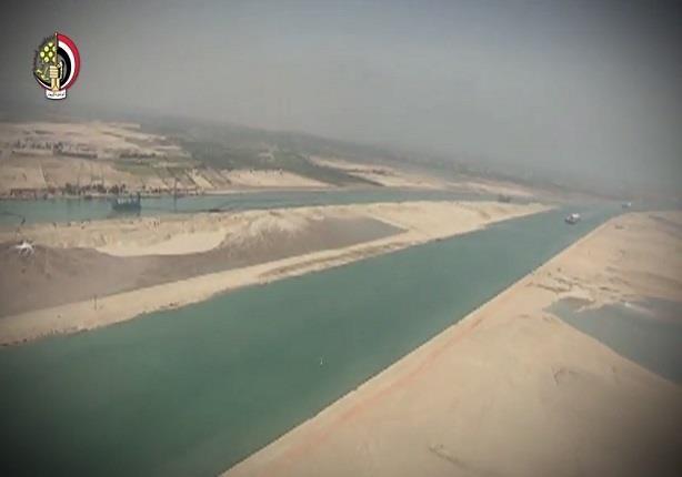 الموقف التنفيذى لمشروع إنشاء قناة السويس الجديدة وتنمية المنطقة المحيطة بها