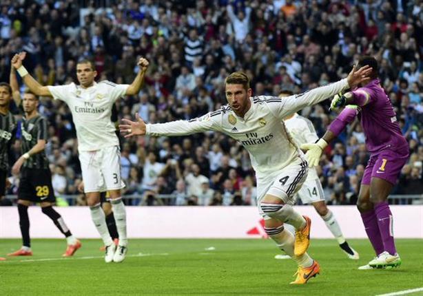أهداف ريال مدريد 3 - مالاجا 1