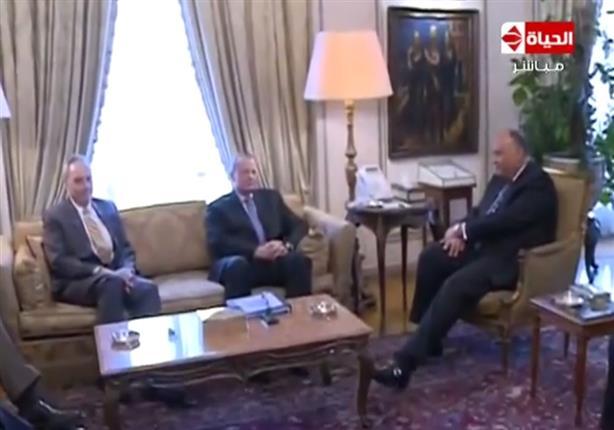 الخارجية تكشف أسباب زيارة الممثل الشخصي لأوباما الي مصر