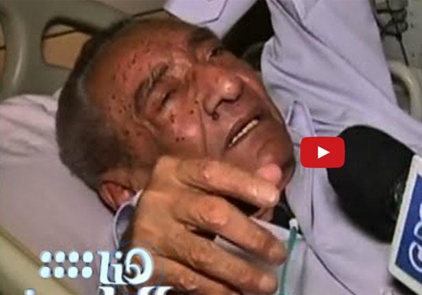 """آخر لقاء تليفزيوني للأبنودي من داخل المستشفى..""""أنا بين أيدي أمينة"""""""
