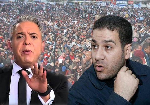 """""""شاهين"""" يتعرض لخدعة من قناة الشرق ويرد بصورة محرجة لمعتز مطر"""