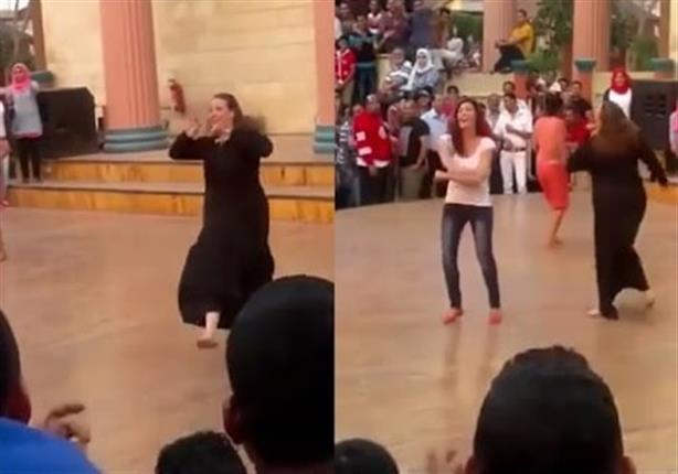 """بطلة فيديو الرقص الشهير بدريم بارك لريهام سعيد: """"مش هرقص تانى """""""