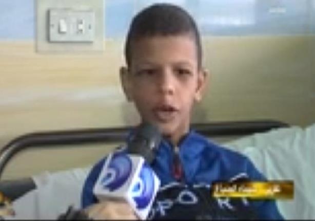 انفجار أمعاء طفل بعد نفخه بمنفاخ