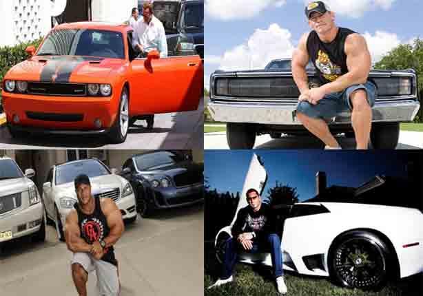 تعرف على السيارات المفضلة لأبطال كمال الأجسام والمصارعة