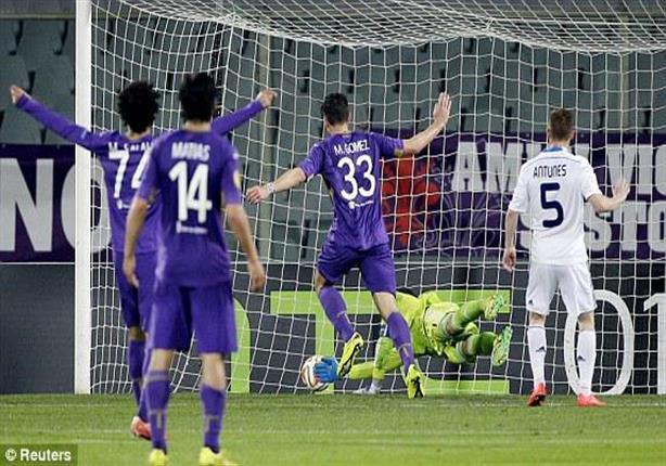"""أهداف فيورنتينا """"صلاح"""" 2 - دينامو كييف 0"""