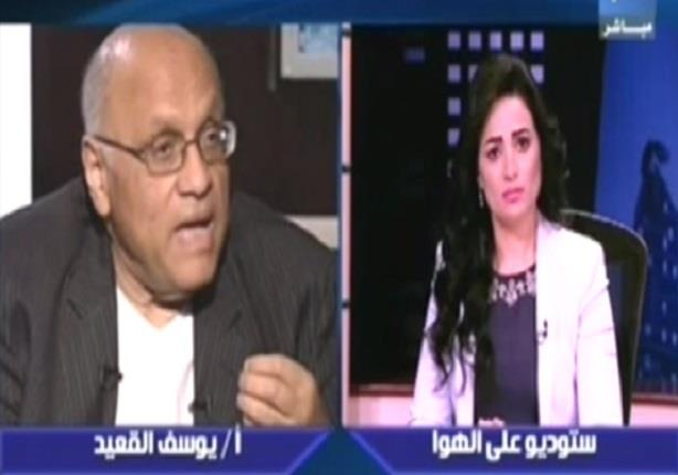 يوسف القعيد لرانيا بدوي: انا مع تهجير سيناء