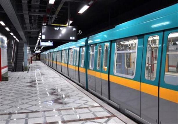 اول فيديو لحادث تصادم قطار مترو العباسية