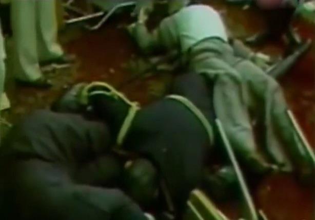 جيهان السادات تعرض فيديو كامل ومفصل لحادث المنصة وإغتيال السادات